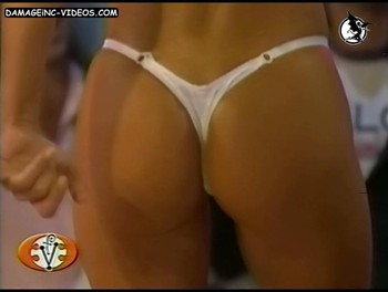 Mara Linari bum in thong damageinc-videos